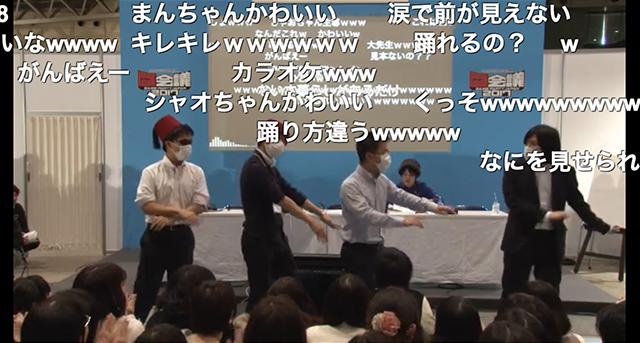 恋ダンスを踊るのは我々だ! live.nicovideo.jp/watch/lv288194… #闘…