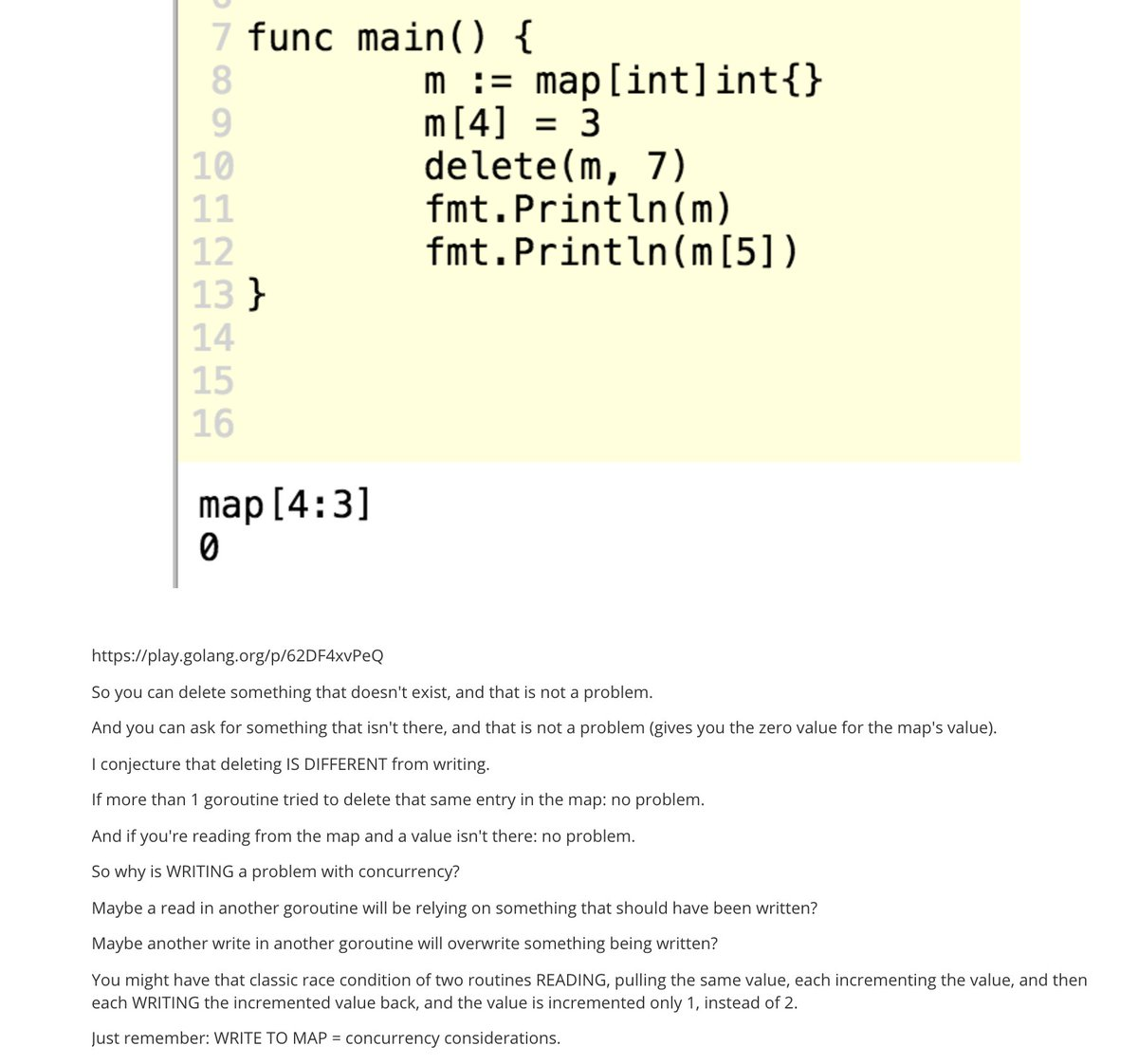 todd mcleod on do you know this about golang maps