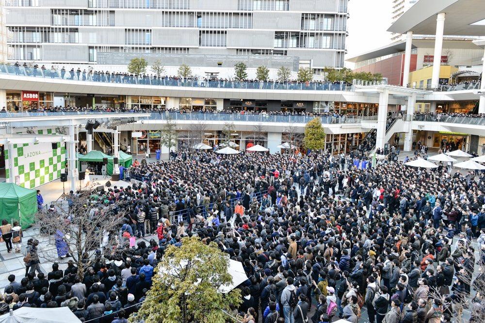 【お礼】本日はラゾーナ川崎にてソロデビューシングル発売記念イベント「虹のはじまり」にお越し頂きありが…