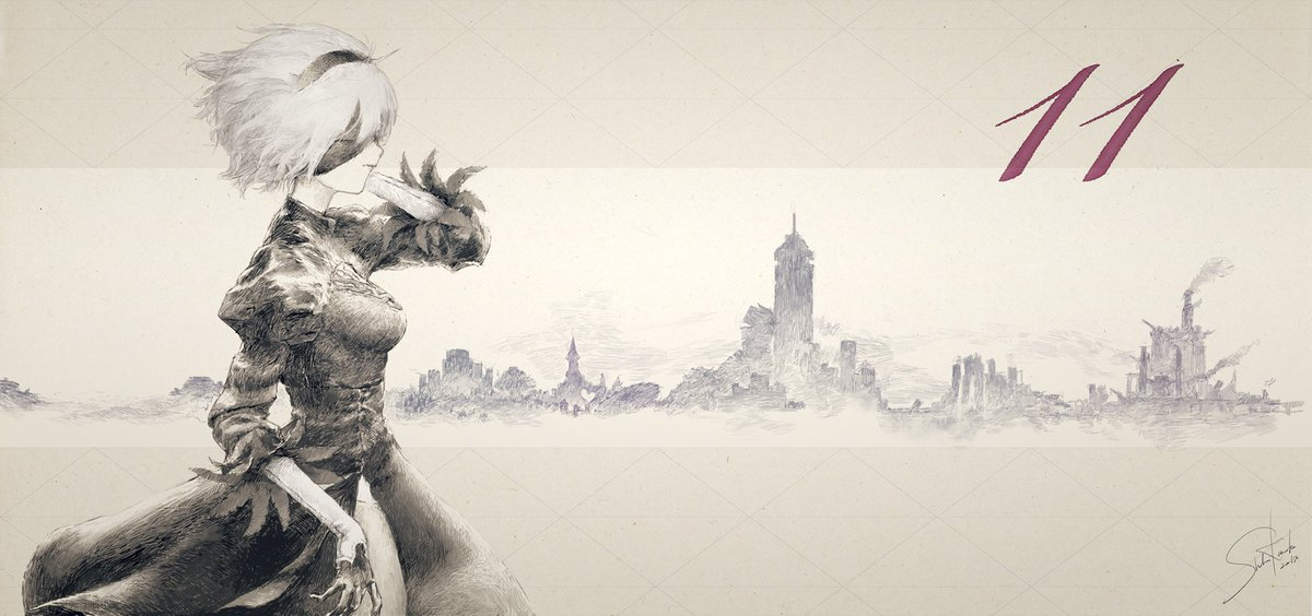 『NieR:Automata』発売まであと11日。プラチナゲームズ・ライティングアーティストの亀岡昇…