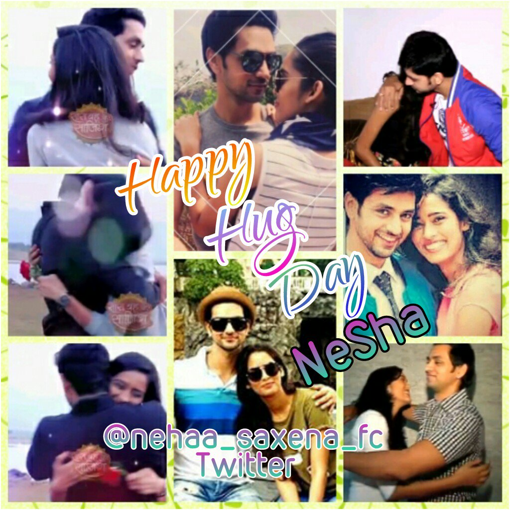 "♥The Neha Saxena♥ FC on Twitter: ""Happy Hug Day #NeSha ♥ @thenehasaxena @shaktiarora https://t.co/33gO8ziWGU"""
