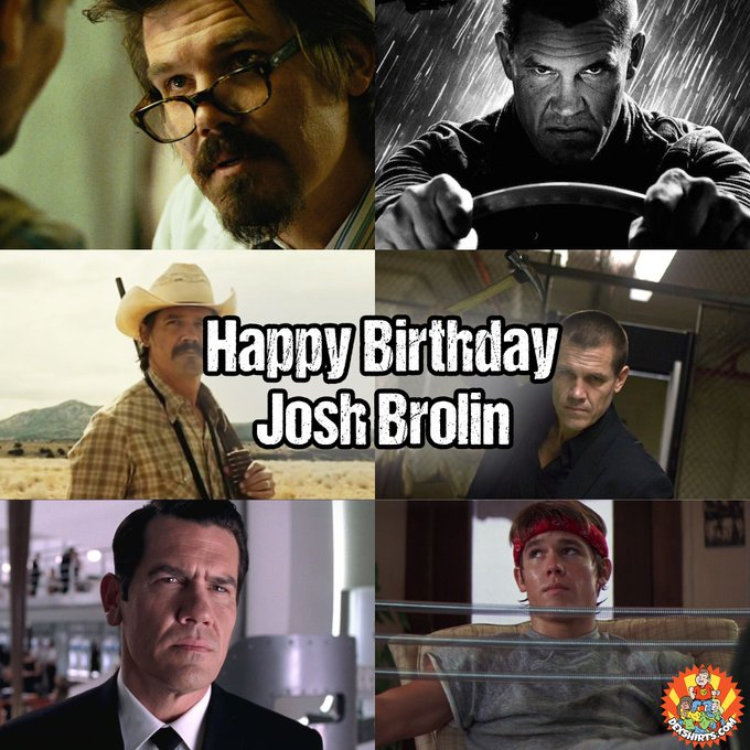 He\s played some of our favourite roles over the years. Happy Birthday Josh Brolin, 49 today!