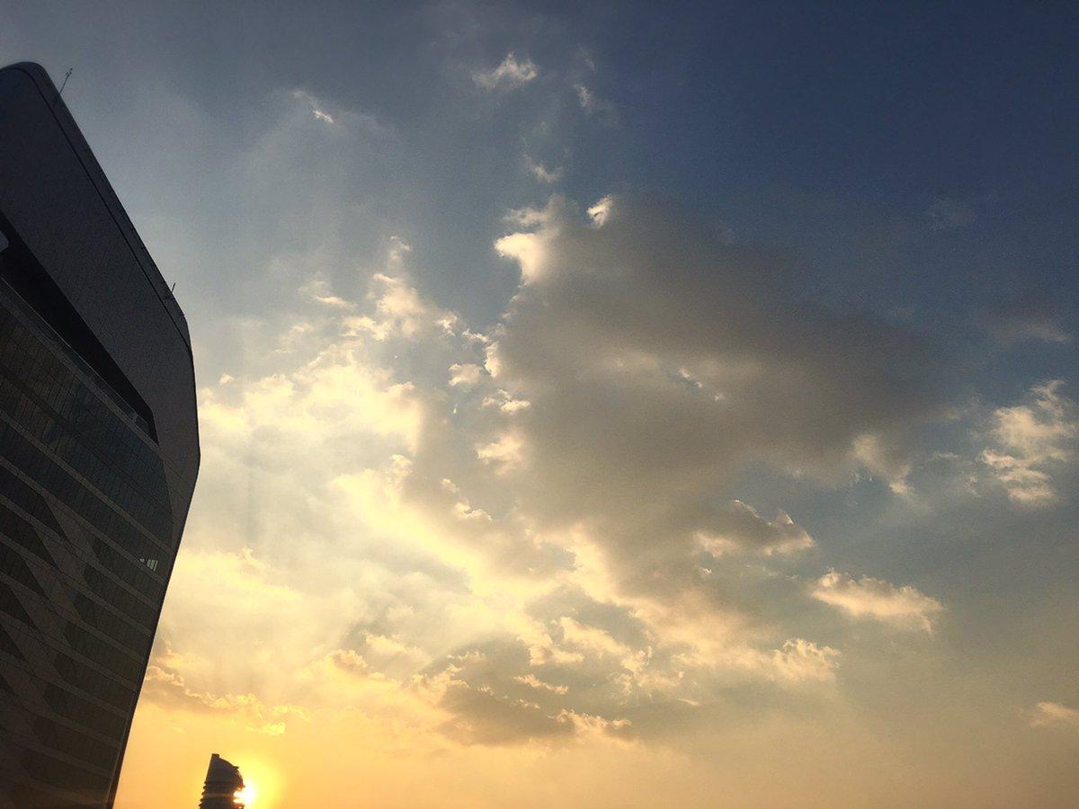 素敵な空😊✨  タイが大好きになりました💓❤️