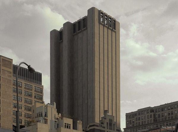 Gratteciel on for Building sans fenetre new york