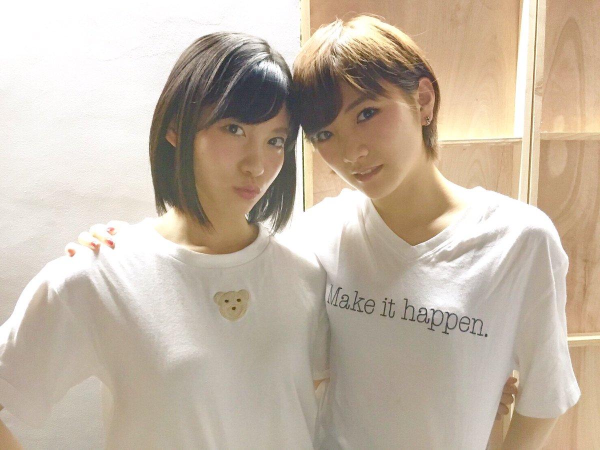 昨日はなぁちゃんと偶然双子コーデ✨ 白Tに黒ワイド😎👍🏻 最近、こうゆうカジュアルな洋服好き!! #…