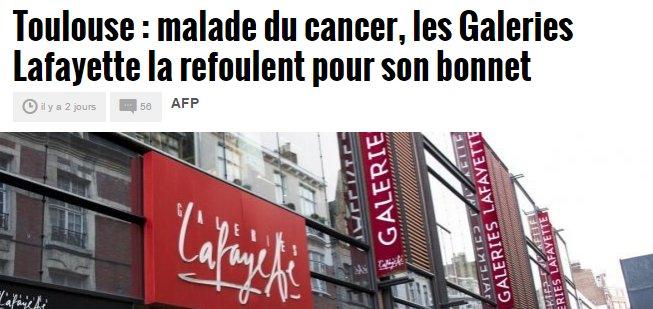 Doit-on comprendre ici que les Galeries Lafayette sont malades ? #MidiLibre <br>http://pic.twitter.com/2n8IElKLo2