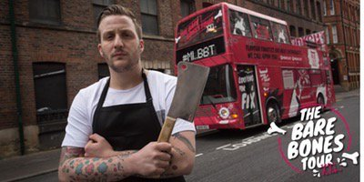 I'm going to 'MEAT LUST BARE BONES TOUR - LONDON - WITH CHEF, BEN SPAL...