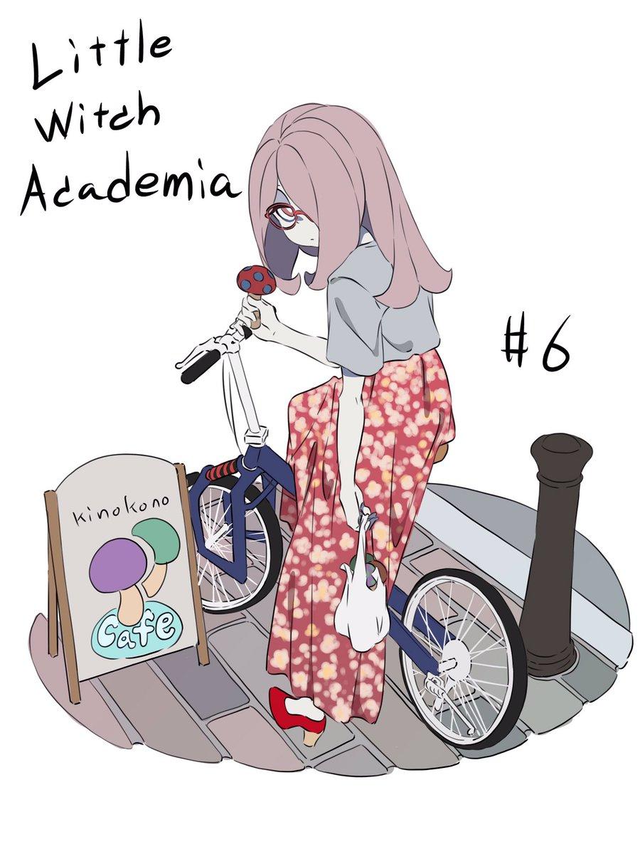 6話始まってるよん。夏服私服なスーシィ #LWA_jp