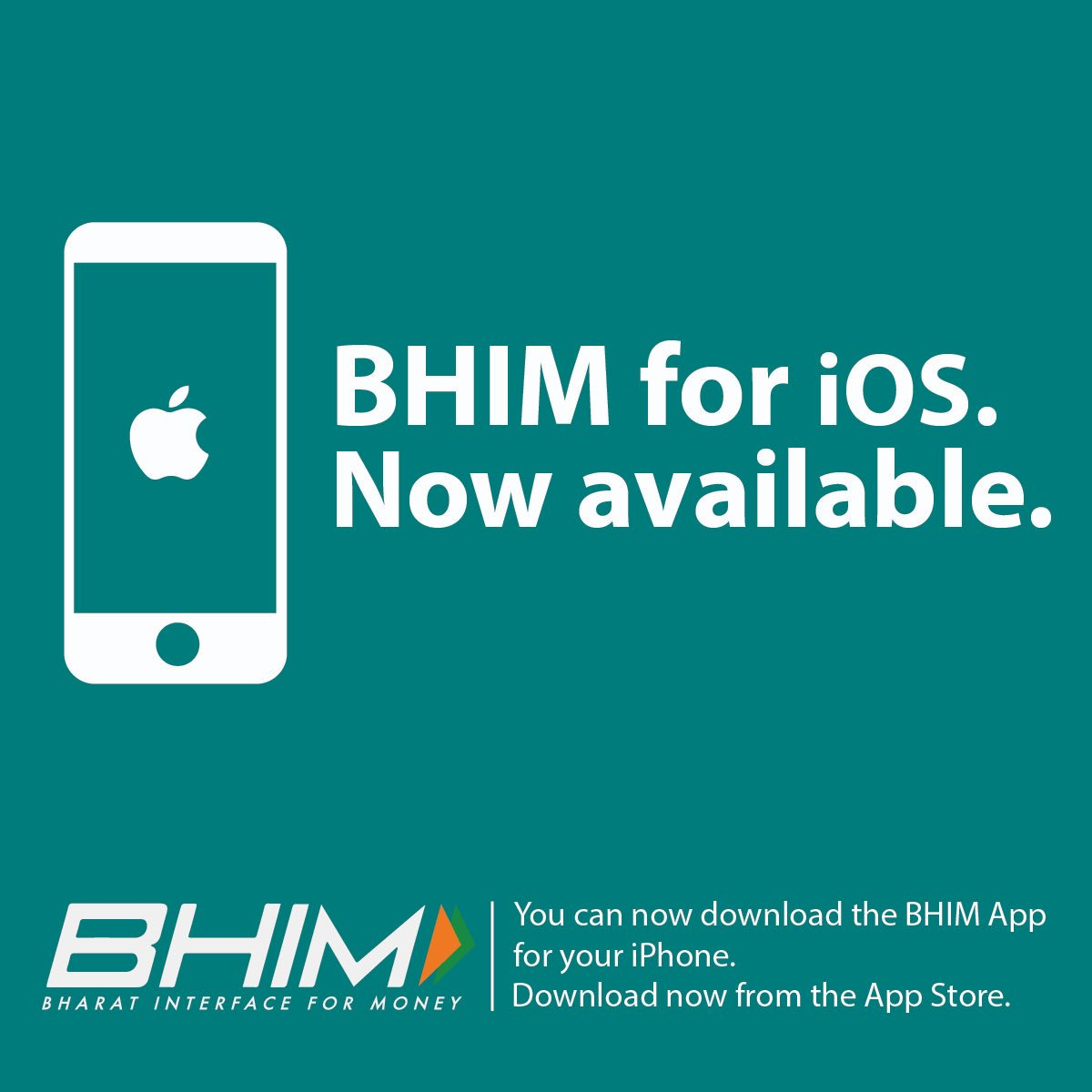 Downloaded the #BHIM App on your #iPhone yet? Use BHIM now &amp; win big digitally!  https:// appsto.re/sg/6T1Ihb.i  &nbsp;     @narendramodi @DS_Khimsar<br>http://pic.twitter.com/Uz6tli5bvJ
