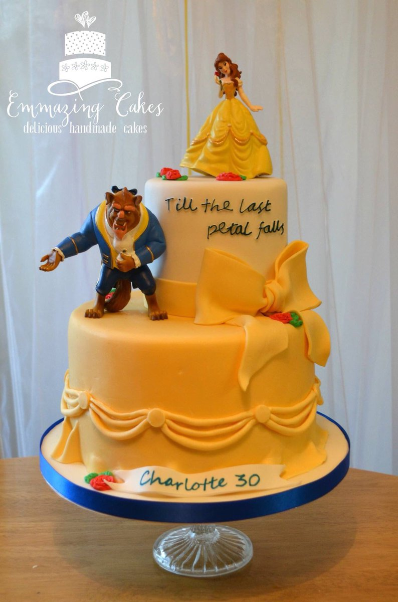 Emma Harris On Twitter A Beauty And The Beast Themed Cake For