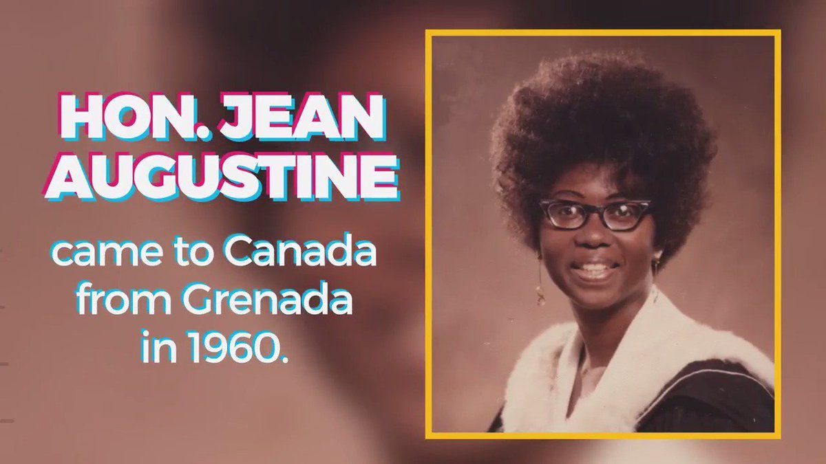 #BlackHistoryMonth: Learn more about the Hon. Jean Augustine, the first black female MP and Cabinet Minister. https://t.co/Sb3NPmAjjG