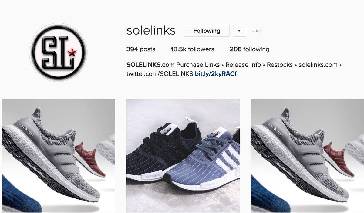 f0caa51a SOLE LINKS · @SOLELINKS. Links to sneaker deals, release information ...