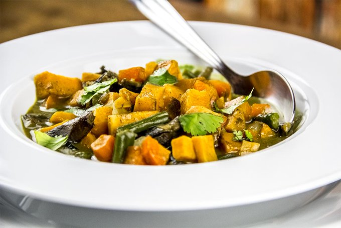 Coconut & Mixed Vegetable Curry Recipe