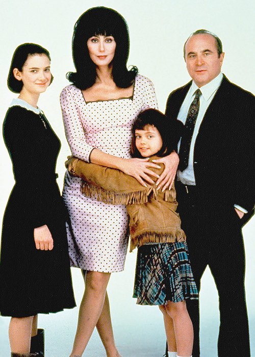 Happy birthday Christina Ricci! Playing MERMAIDS, and wishing Cher was our mom!