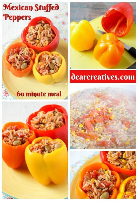 Mexican Stuffed Peppers Recipe Easy A Delicious 60 Minute Meal!