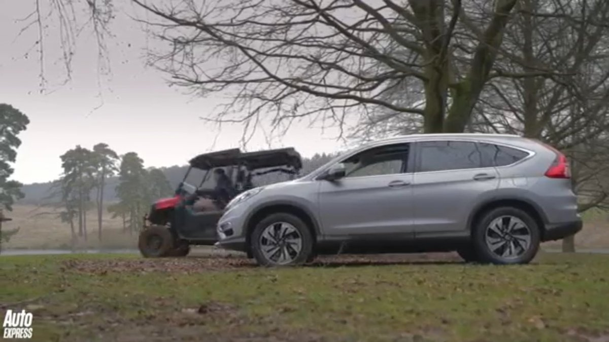&quot;Mud and drifting in Honda&#39;s ultimate utility vehicle.&quot; Great #Pioneer review from @AutoExpress&#39;s @JRRBatchelor. See  https:// m.youtube.com/watch?feature= share&amp;v=8ePRALYs3b8 &nbsp; … <br>http://pic.twitter.com/Io9LhJxoXL