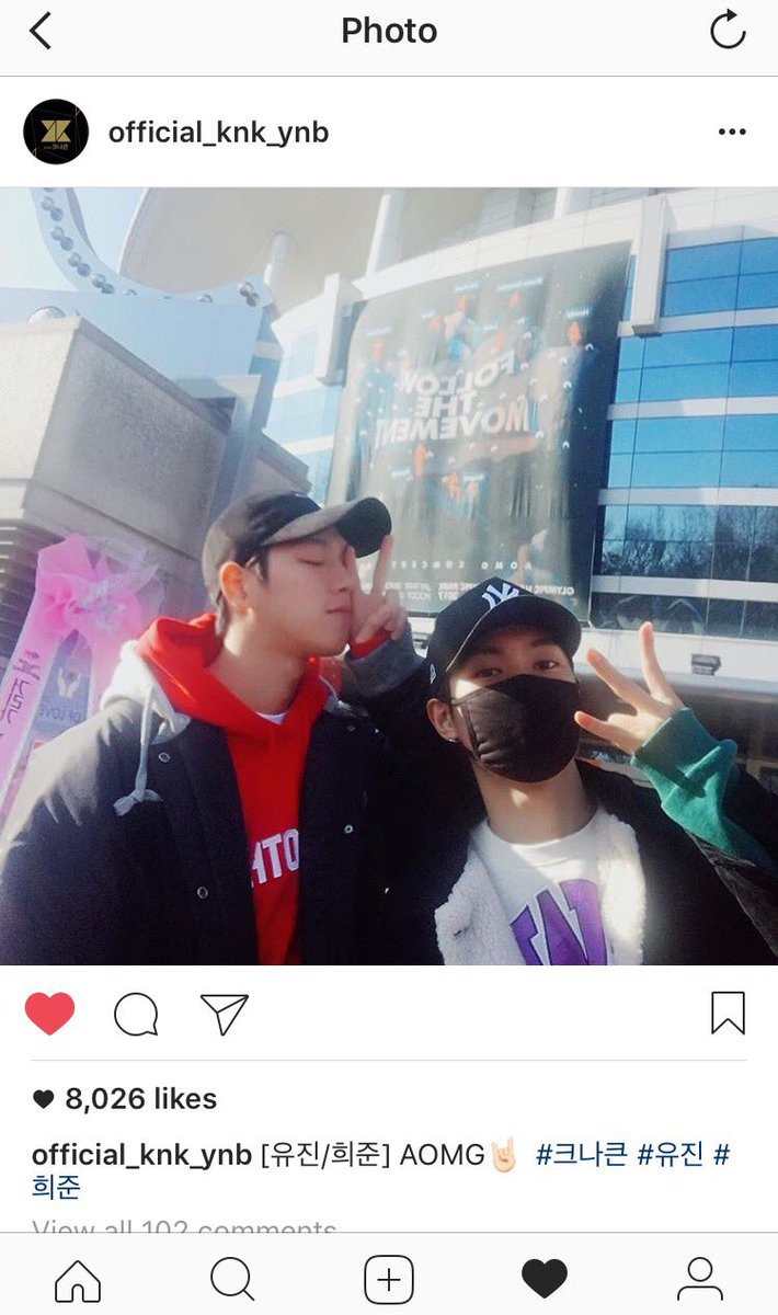 When your favs support your favs  #KNK #AOMG2017FTM<br>http://pic.twitter.com/cgjvUNqpuV