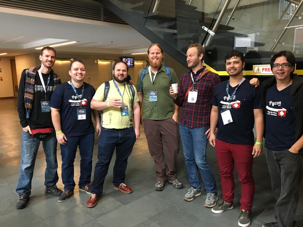 Swapps team with the masters! #pyconco2017 https://t.co/5l9JBoKqJa