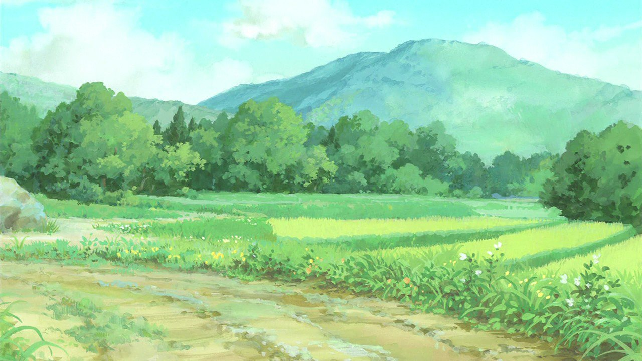 "Anime Background Art on Twitter: ""Kaze no Matasaburou ..."