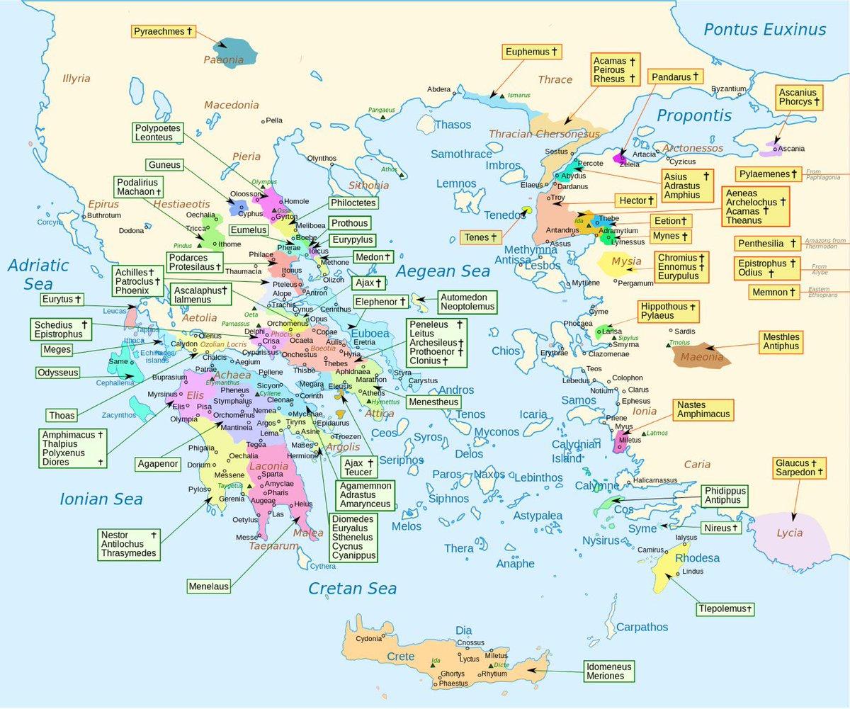 Une carte pour localiser l&#39;origine des personnages de l&#39;Iliade d&#39;Homère  http:// kottke.org/17/02/map-show ing-the-homeland-of-every-character-in-homers-iliad &nbsp; …  @APHG_National #histoire #antiquité<br>http://pic.twitter.com/BVj8eDj3sD