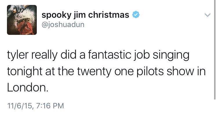 Josh Dun Tweets 2017