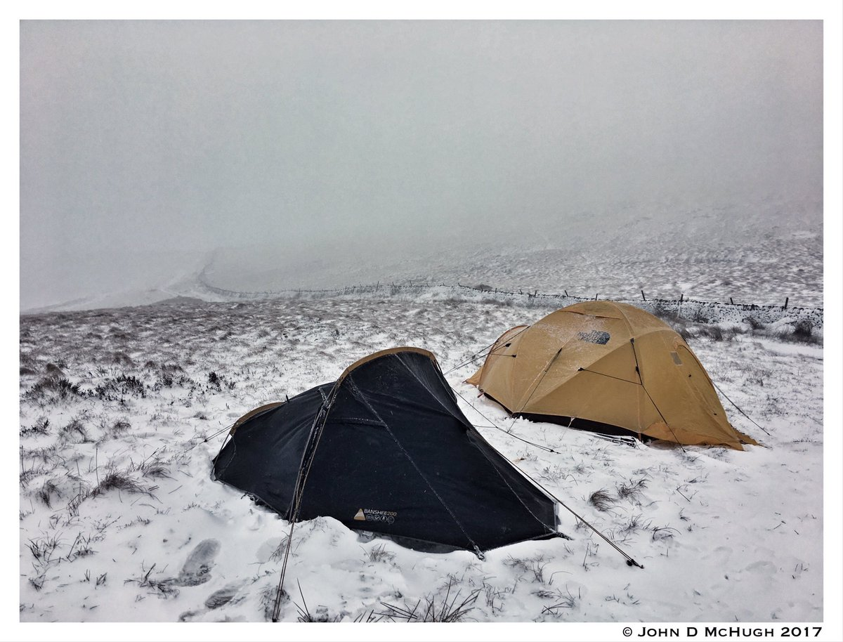 John D McHugh on Twitter  My new @Vango Banshee 200 Anthracite stood up to ferocious winds u0026 plenty of snow overnight on #kinderscout in #peakdistrict ... & John D McHugh on Twitter: