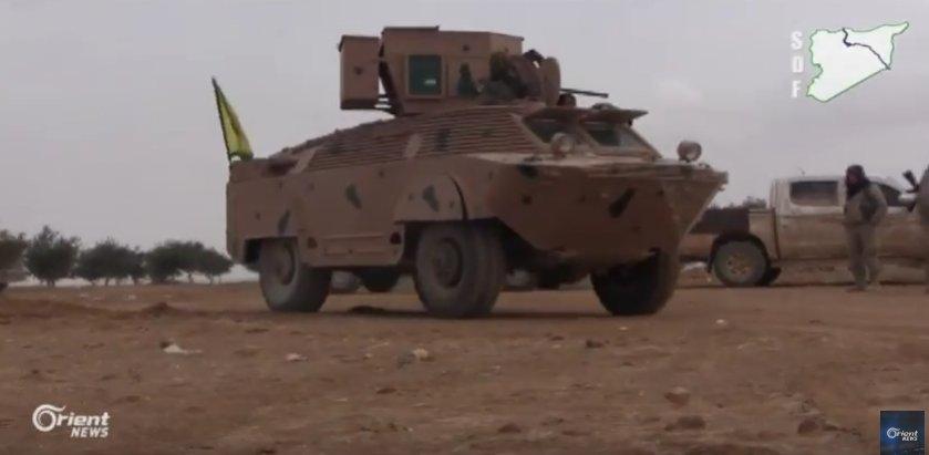 قوات سوريا الديمقراطيه ( قسد ) .......نظرة عسكريه .......ومستقبليه  C4fhsSfVYAAR1wv