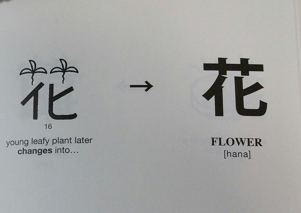 花 / hana / flower 花やか / hanayaka / brilliant; gay …