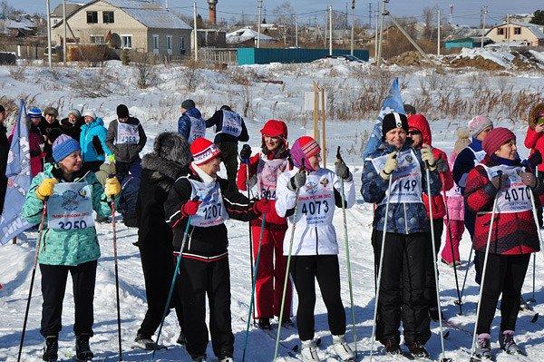 Лыжня россии пгт прогресс фото