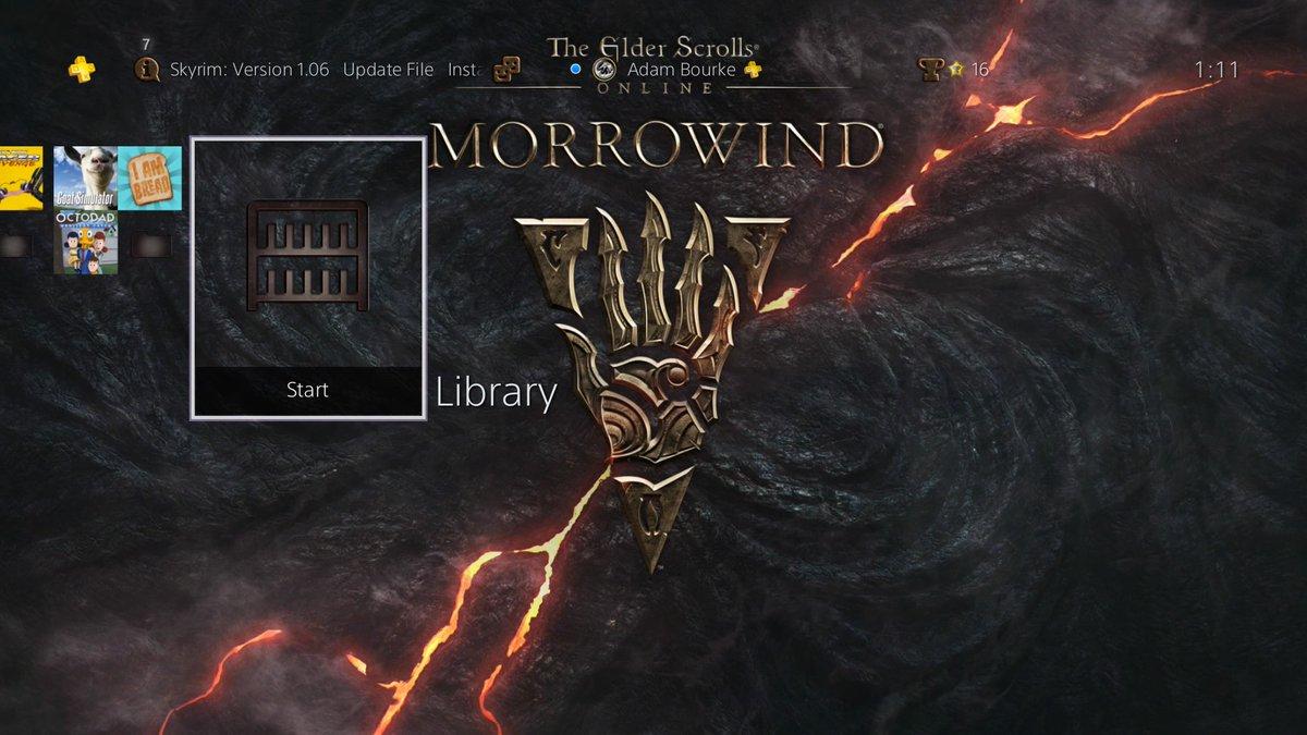 Pre Order Dynamic Theme For Morrowind On Ps4 Elder Scrolls Online