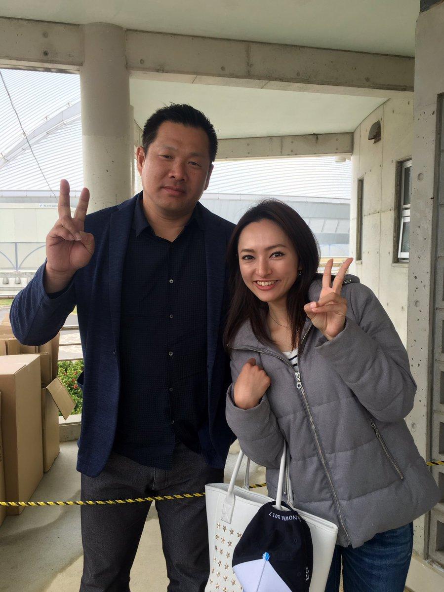 宜野座村にて山﨑武司さんに遭遇! スケジュールの都合で中々 #TimelyCHANNEL  に出演で…