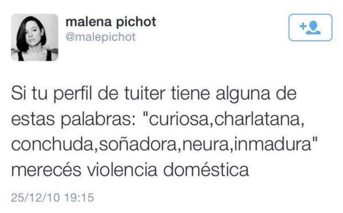 "malena pichot a Twitter: ""shhhhh córrete… """
