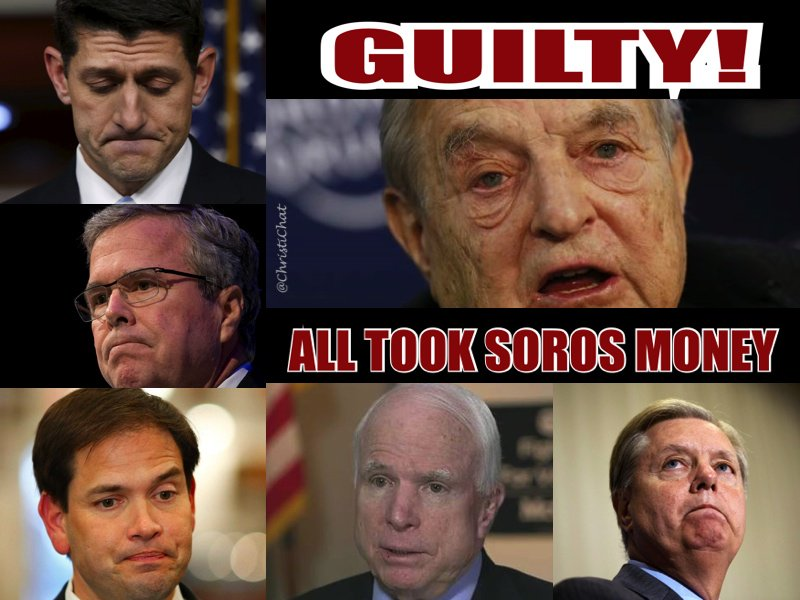 @Lrihendry @4Freedom4ever wow @SenJohnMcCain and #graham taking money from Saudis? and Soros? wtf - do they do anything for AMERICANS? <br>http://pic.twitter.com/15XkEKQZrQ