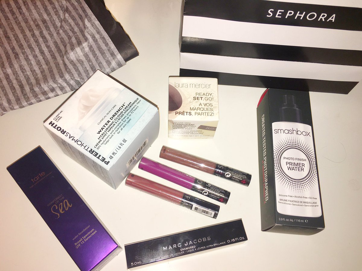 Picked up some goodies  #Sephorahaul <br>http://pic.twitter.com/qu7eMWe2vB