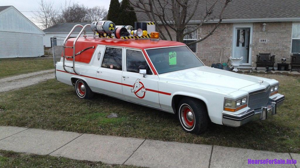 hearses for sale on 1982 cadillac hearse ghostbusters
