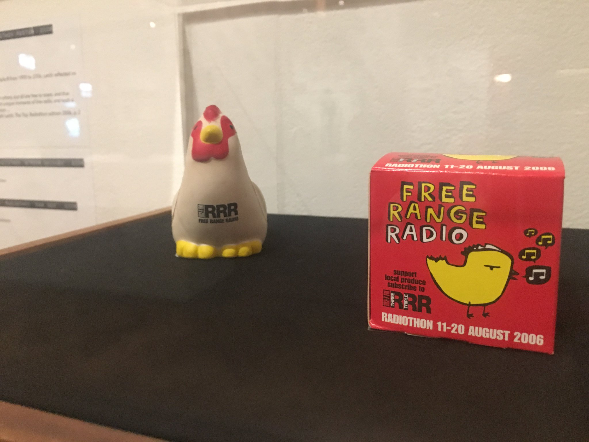 Stressed? The 'Free Range Radio' Radiothon stress chicken is just the thing to help. #WorldRadioDay https://t.co/JZT695IByZ