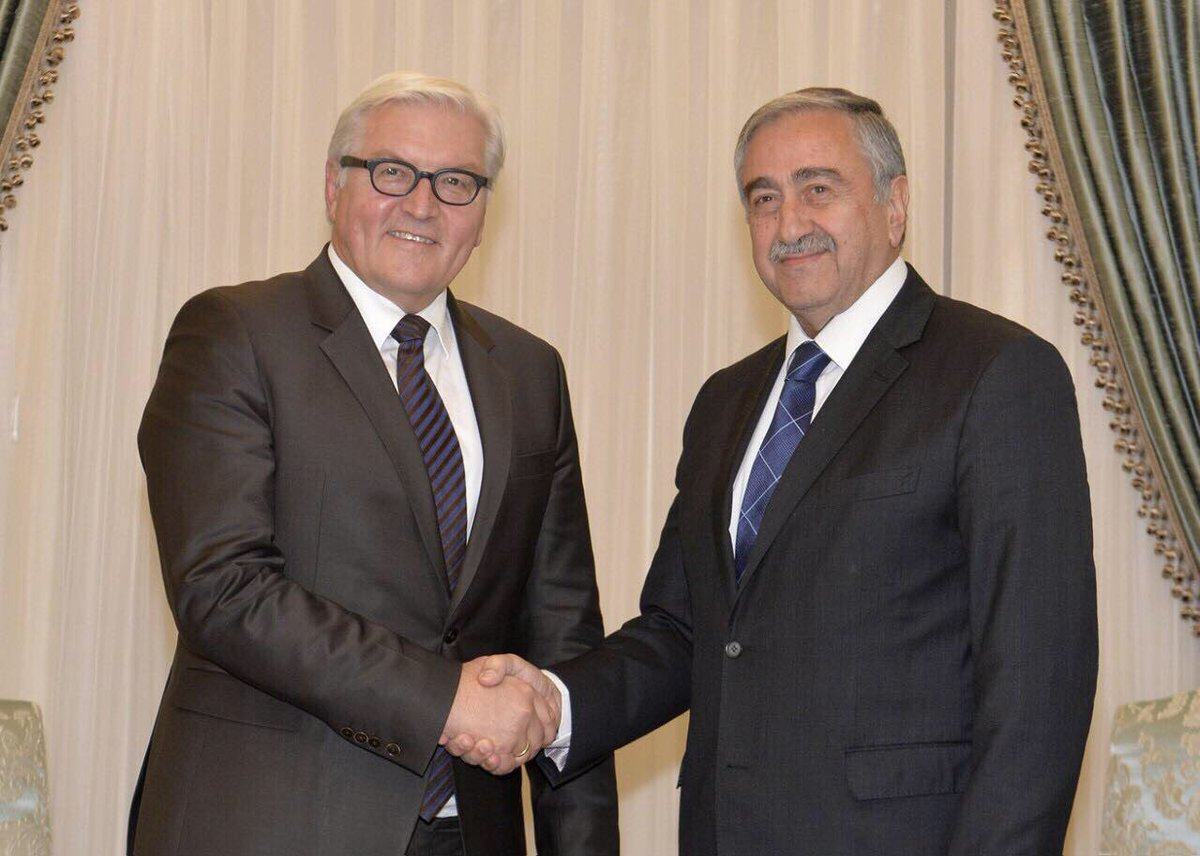 Congrats to F.W. #Steinmeier on his election as President with the belief that his support for the just solution of Cy prob will continue. https://t.co/ZW3QObFlhT
