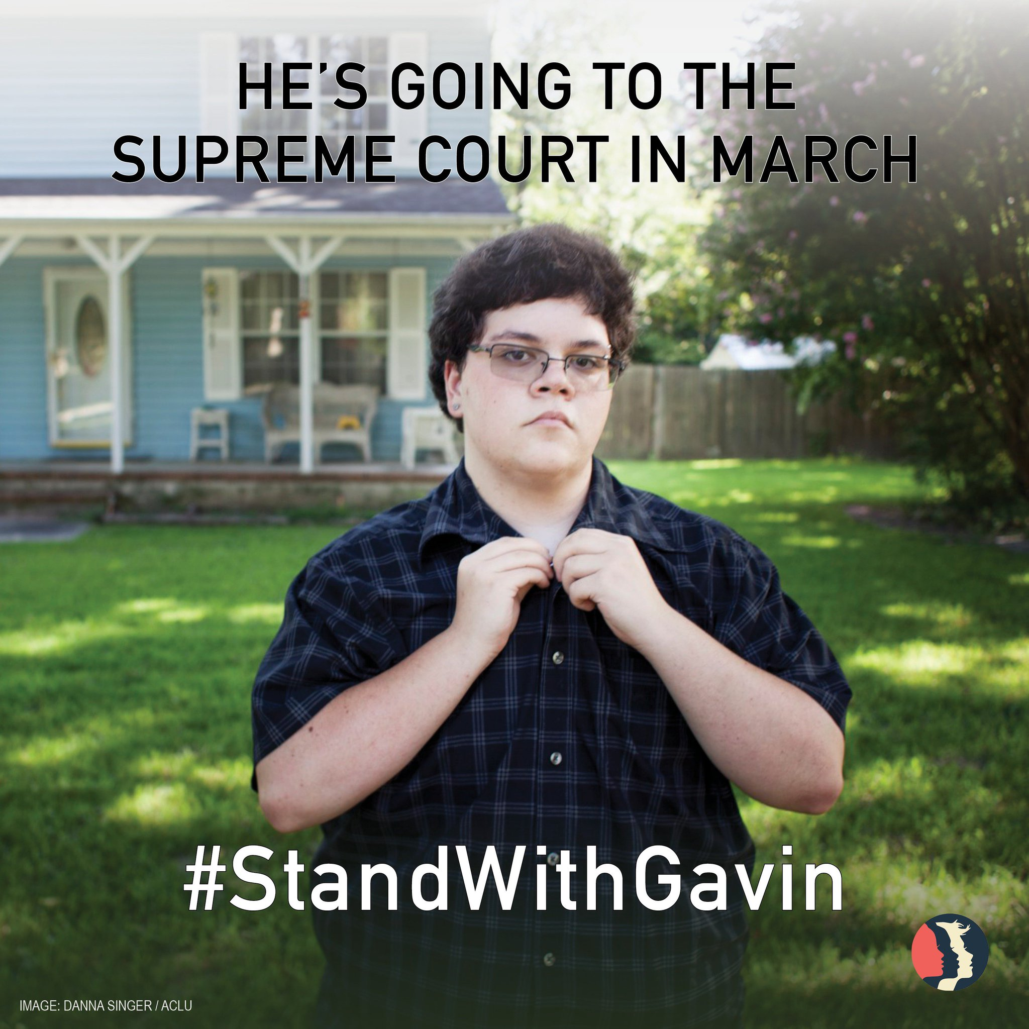 Transgender rights are human rights! We #StandWithGavin, the 17-year-old taking his fight for transgender rights to the Supreme Court. https://t.co/io9Ntwqqgm