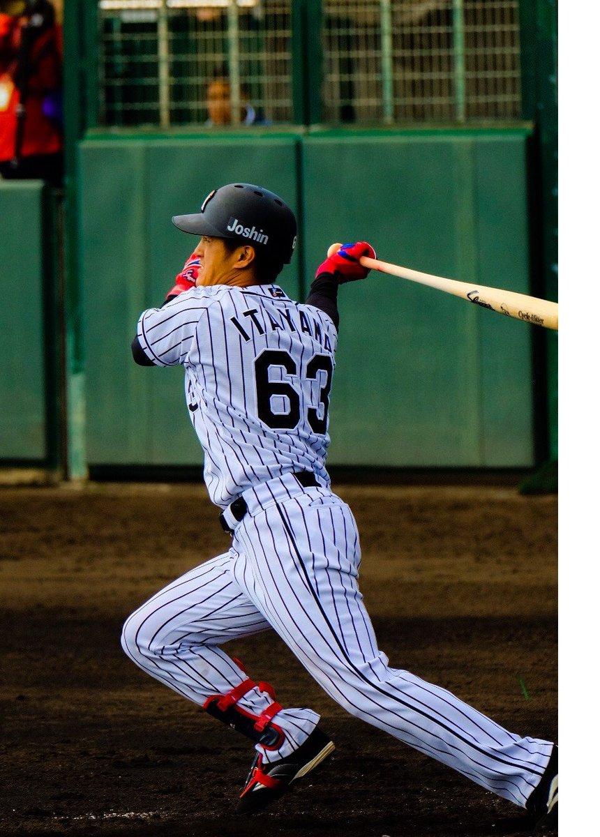 宜野座で行われている横浜DeNAベイスターズとの練習試合、2回裏に板山選手がタイムリースリーベースヒ…