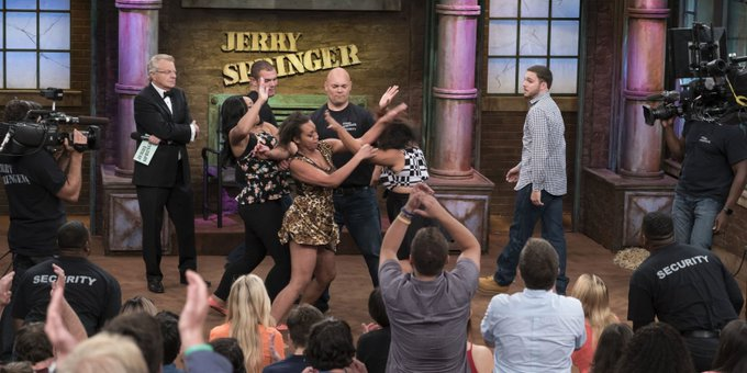 Happy Birthday to Jerry Springer, who turns 73 today!