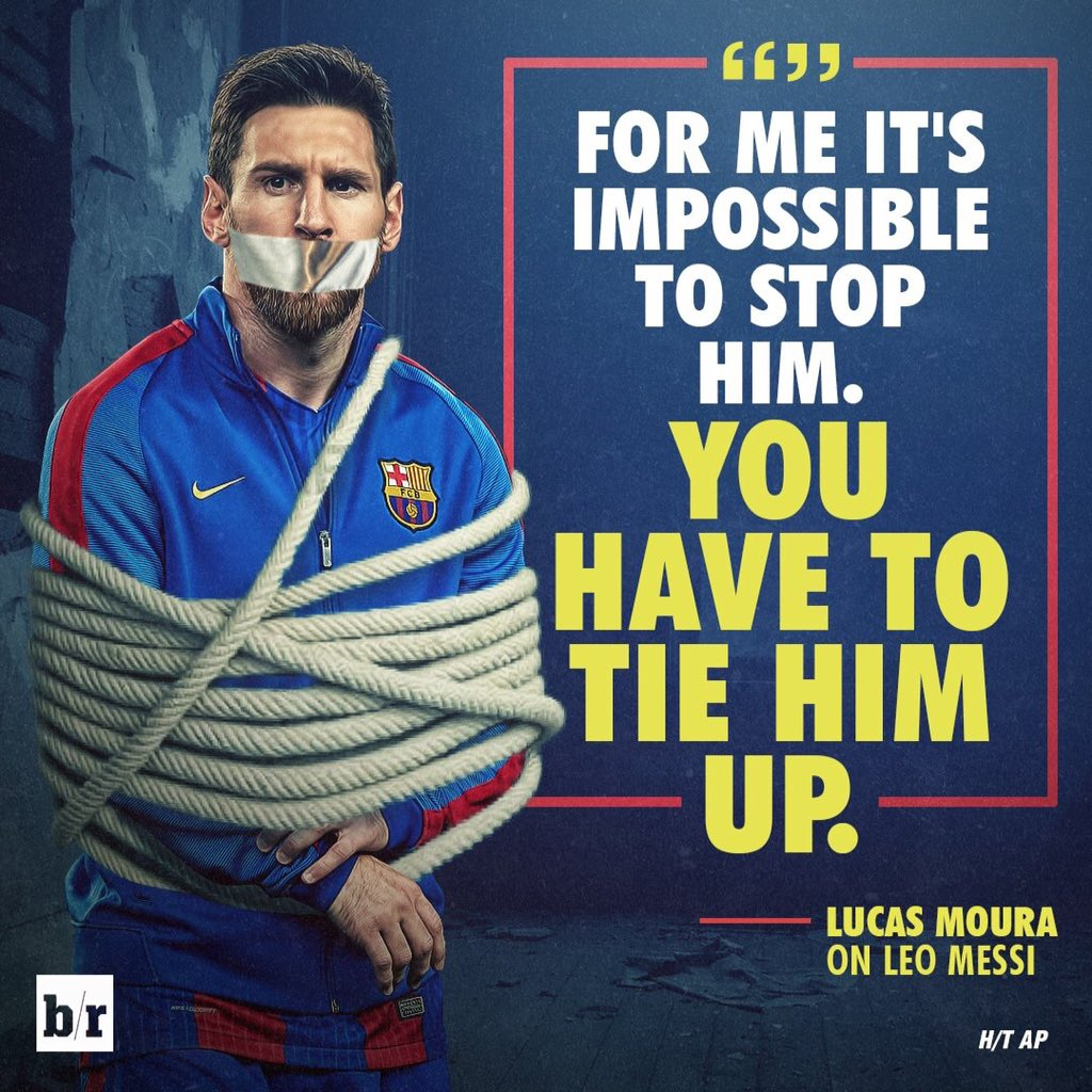 """Lucas Moura Lucasmoura7: Quotes On Messi 💭 On Twitter: """".@LucasMoura7: """"Messi Is A"""