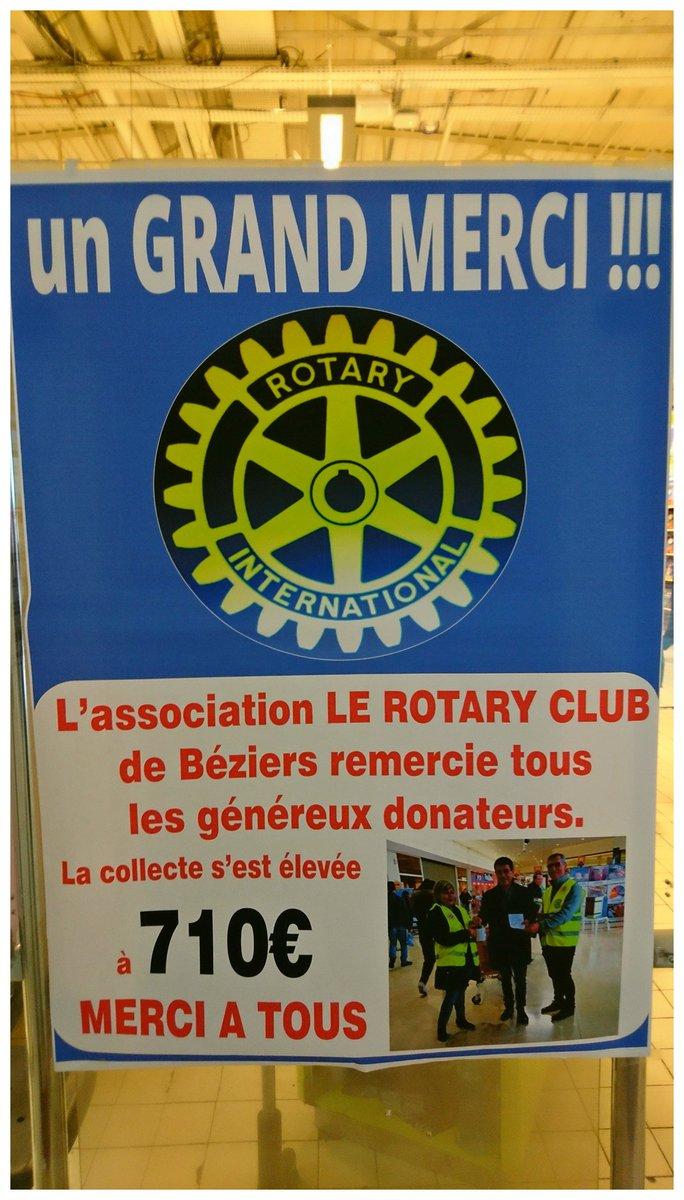 Aquí Besièrs !  Merci à l&#39; #association du @RotaryFR ,et un grand MERCI à vous,donateurs ! #Auchan #Beziers #solidarite #partage #ensemble<br>http://pic.twitter.com/TsKXyDQ4EE
