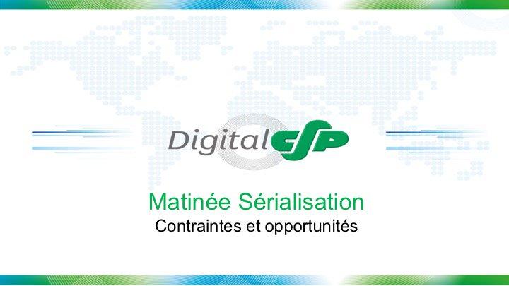 Thumbnail for Matinale de lancement de DIGITAL CSP et sérialisation du médicament #hcsmeufr #digitalCSP