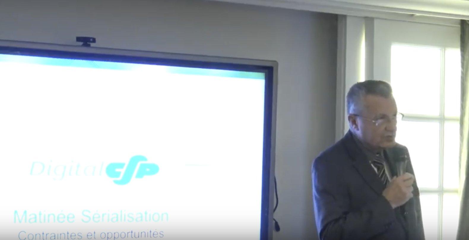 """Introduction de la matinée par JP Baudry, fondateur de C.S.P. """"C.S.P a pris une décision stratégique importante"""" #digitalCSP https://t.co/k9WkexSVq9"""