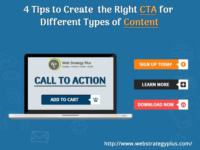 4 Tips to Create the Right CTA for Different Types of Content https://t.co/tl1sdvhX3k https://t.co/oP6lXvFUWV