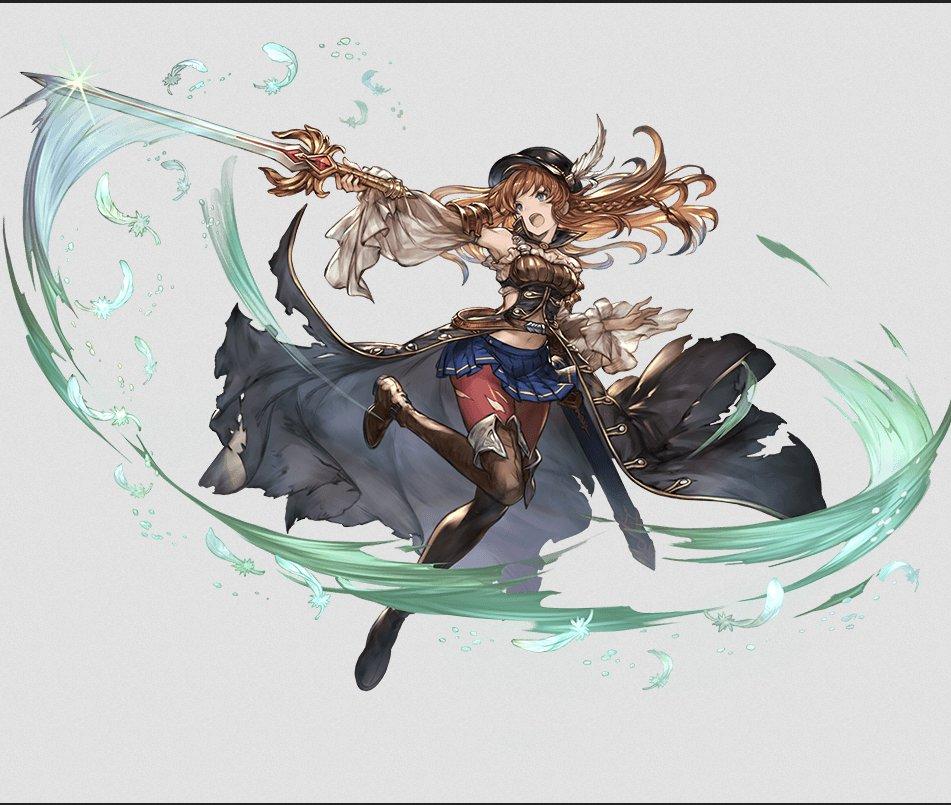 左 グランブルーファンタジー リーシャ 右 妖怪惑星クラリスのキャラクター  (あかんこれ・・・・!…