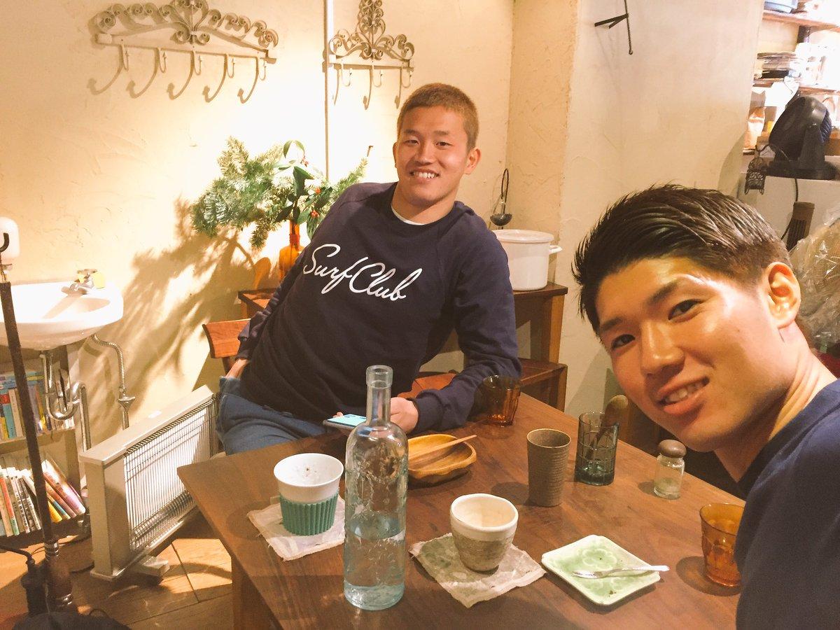 2年ぶりくらいにに会えました!! たくさんの刺激をゲット✌️ オフ明けからまた頑張ろう!! #奈良竜…