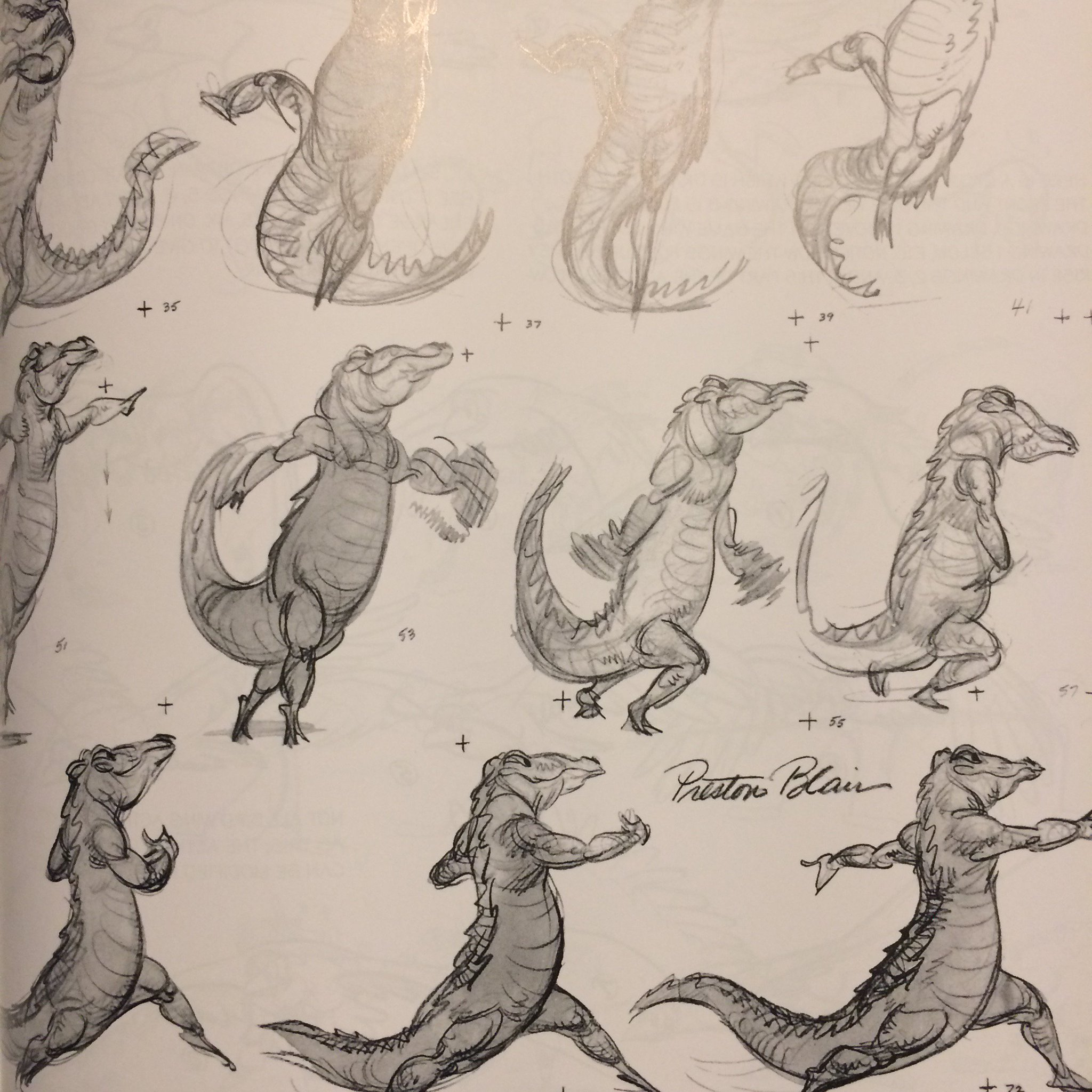 Rick Law On Twitter Preston Blair Animated The Hippoalligator