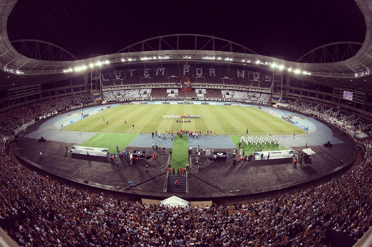 """Botafogo F R on Twitter """"Quarta é dia de Estádio Nilton Santos"""