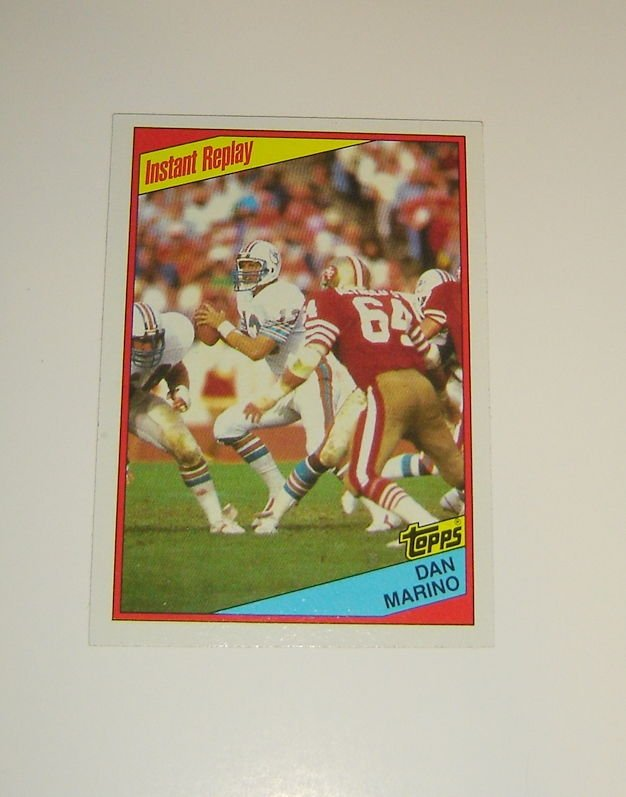Dan Marino, Miami #Dolphins, 1984 #Topps #Card #124 (Mint Condition)  http:// dlvr.it/NMW46G  &nbsp;   #NFL #Football<br>http://pic.twitter.com/3nDlAknNpg